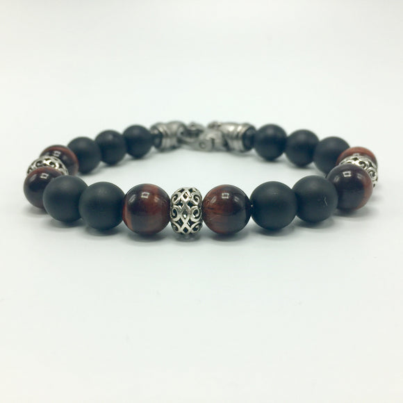 red-tiger-eye-bracelets