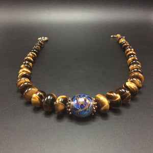 302 Tigereye necklace