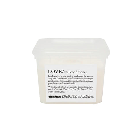 LOVE curl conditioner da Davines