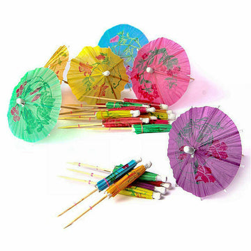 Paper Cocktail Parasols - Pack of 144