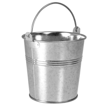 Galvanised Steel Serving Bucket 12cm