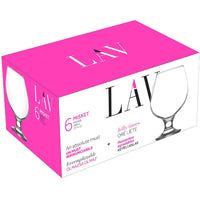 Lav Brandy Glasses 400ml - Pack of 6
