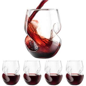 Conundrum Red Wine Glasses Pack of 4