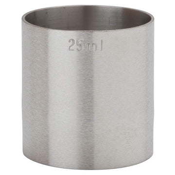 Stainless Steel Thimble Measure 25ml CE