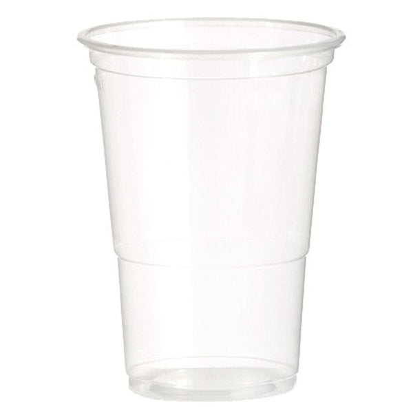 Flexible Plastic Pint Glasses 470ml - Pack of 50