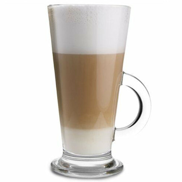V Shaped Latte Glasses 260ml - Pack of 2