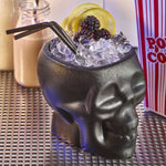 BarBits Black Tiki Skull Mug 400ml