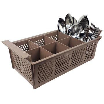 Dishwasher Cutlery Basket - 8 Compartment