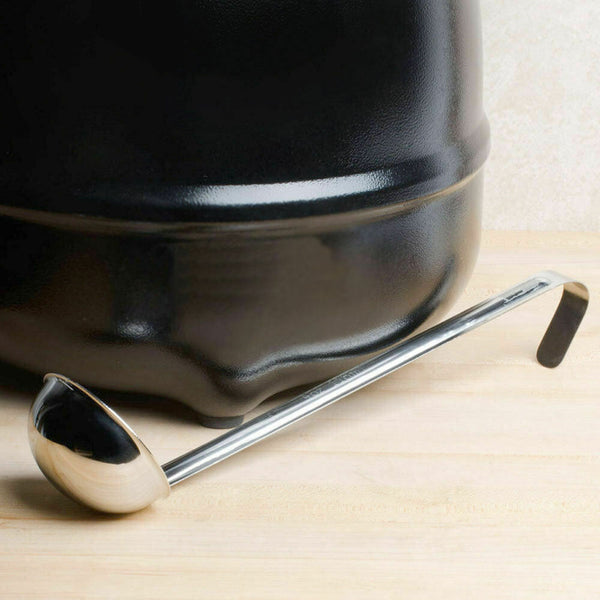Round Bottom Stainless Steel Ladle - 2oz