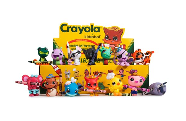 Crayola Coloring Critters Mini-Figures