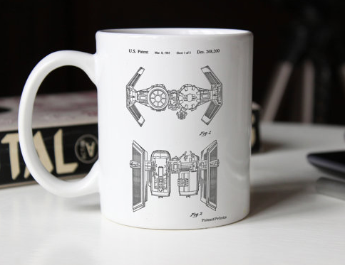 Patent Mugs- 4 designs!