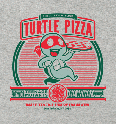 Turtle Pizza Tee
