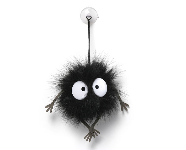 Soot Sprite Suction Cup Plush