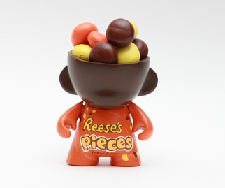 Custom Dunny by Zard Apuya- Reeses Pieces