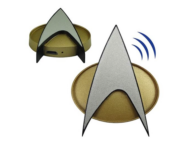 Star Trek: TNG Bluetooth Communications Badge