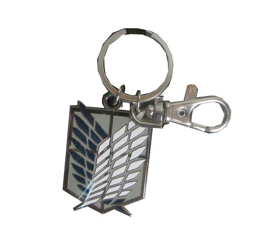 Attack on Titan Survey Corps Emblem Metal Key Chain