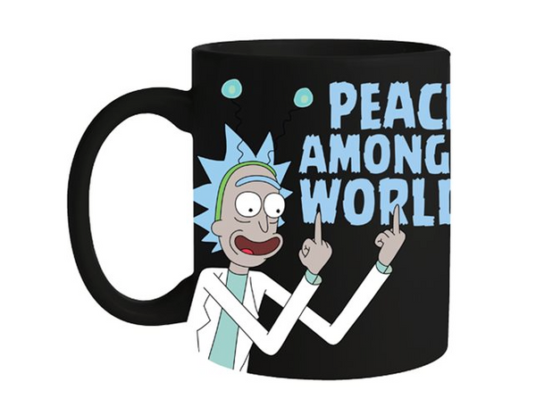 Rick and Morty Peace Among Worlds Coffee Mug