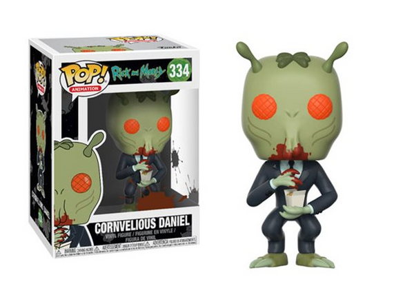 Rick and Morty Cornvelious Daniel Pop! Vinyl Figure #334
