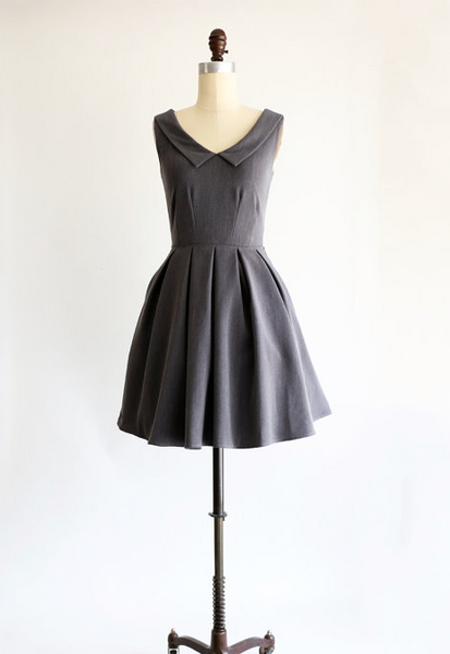 SUNDAY Dress in Charcoal