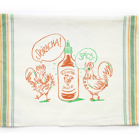 Fisk and Fern Tea Towels