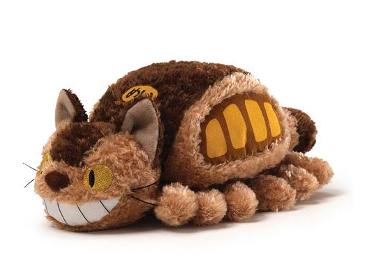 My Neighbor Totoro Fluffy Cat Bus Plush