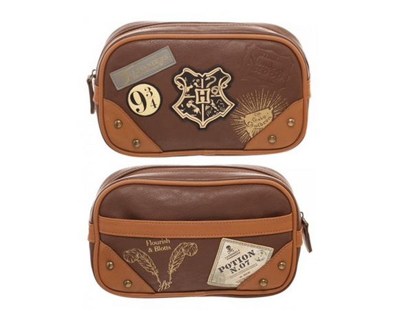 Harry Potter Hogwarts Toiletry Bathroom Bag