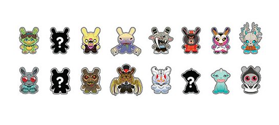 Kidrobot City Cryptid Dunny Series Mini-Figures