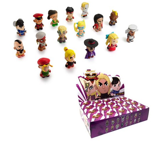 Street Fighter V Mini-Figure Series