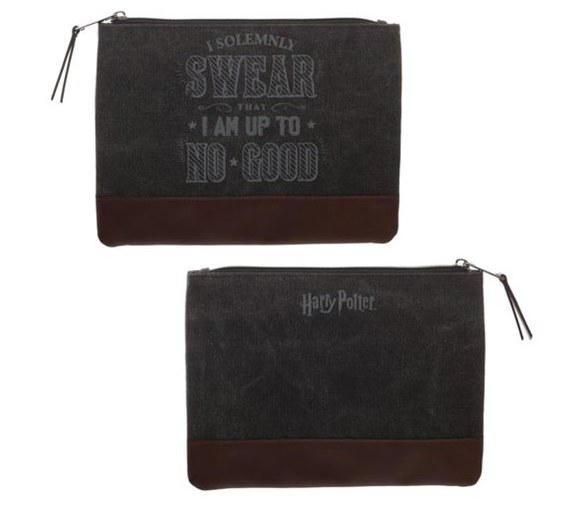 Harry Potter Canvas Pencil Case
