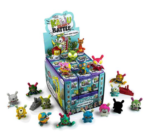 Kaiju Dunny Battle Series Mini-Figures
