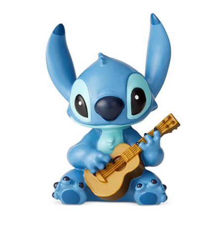 Disney Showcase Lilo & Stitch Stitch with Guitar Mini  Statue