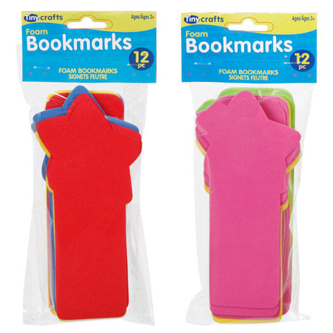 Bookmark: Foam Shape