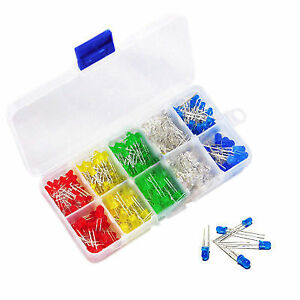 LED: 3mm & 5mm Assorted 200 Kit with Box