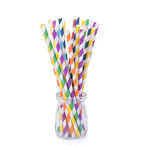 Straws: bundle of 10 paper