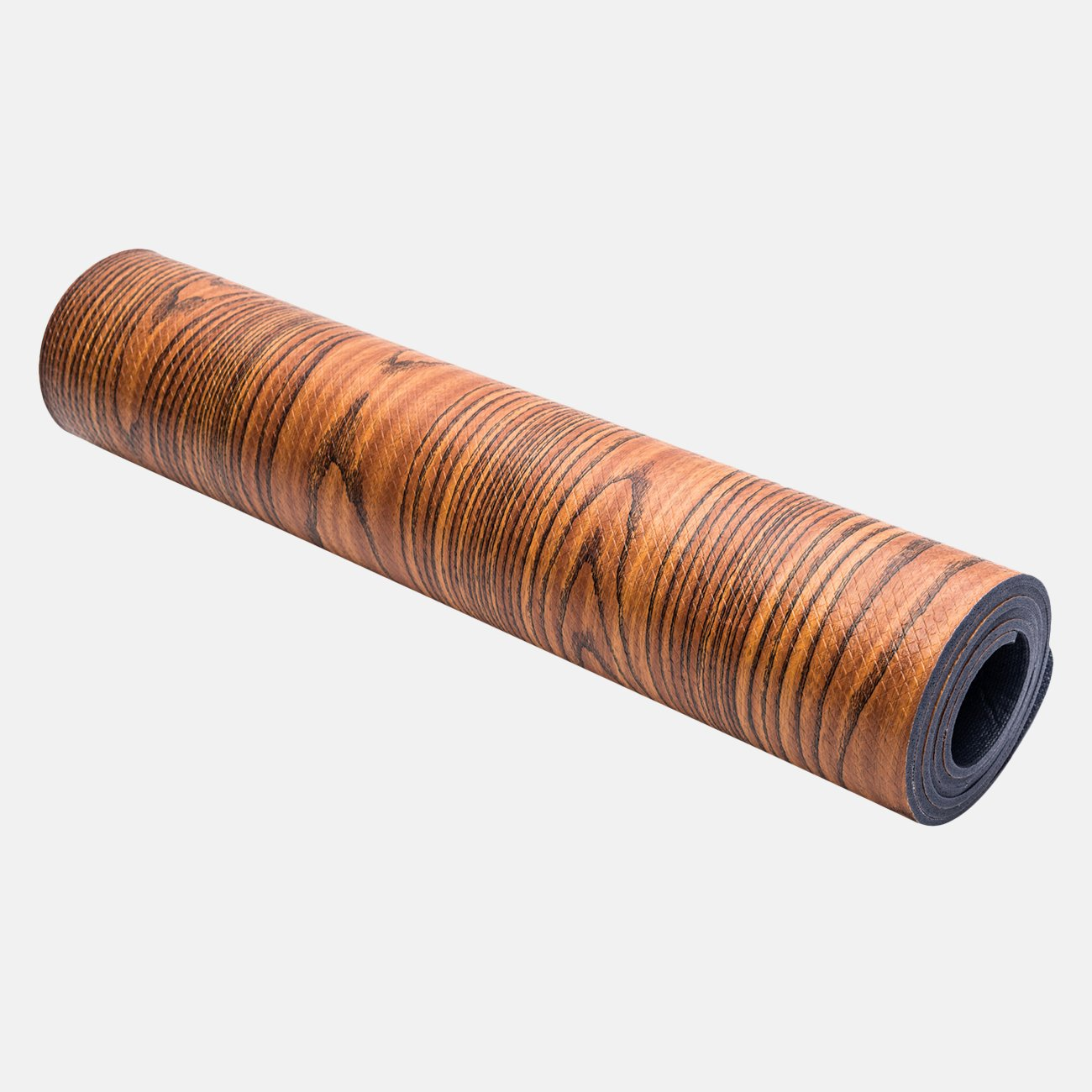 Wood Grain Yoga Mat