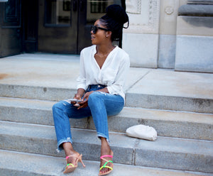 Summer Vibes-Square Toe Mules