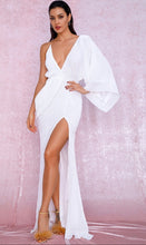 Forever Young Sequin Maxi Dress (White)