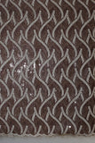Sequence Organza Lace fabric