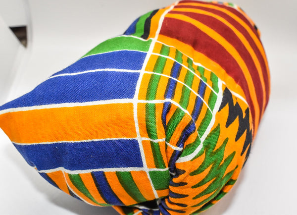 Kente  Bonnet Wrap