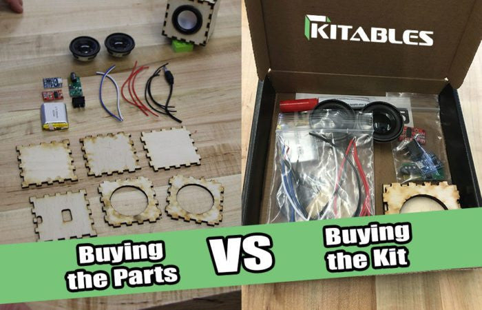 Buying the Parts vs. Buying the Kits