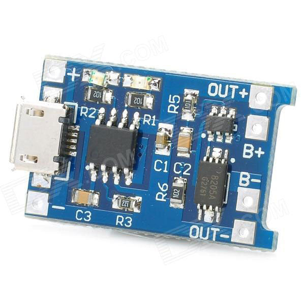 Micro USB Battery Charger Module
