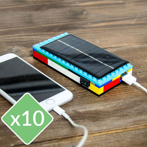 Lego Solar Charger Kit - 10 Pack