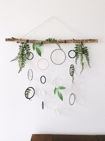 Boho Wall Hanging | Botanical Home | Bast + Bruin