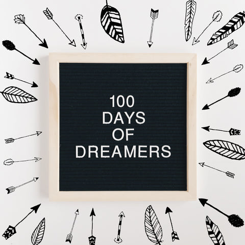 the 100 day project | 100 days of dreamers
