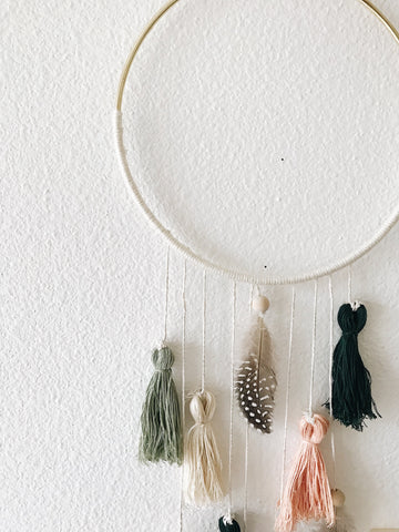 Minimalist Dream Catcher | Bast + Bruin