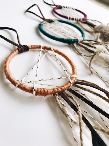 Gold Dreamcatcher | Teal Dreamcatcher | Plum Dreamcatcher
