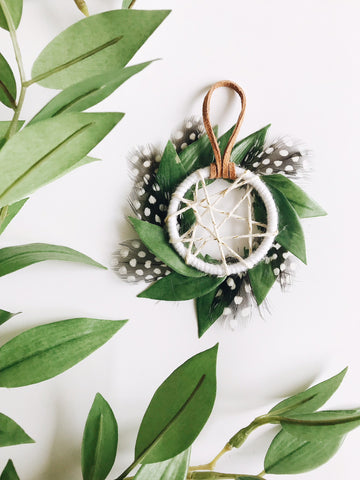 Mini Dreamcatcher | Wild One Party Favor Idea | Bast + Bruin