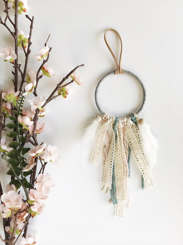 boho nursery dream catcher | bast + bruin