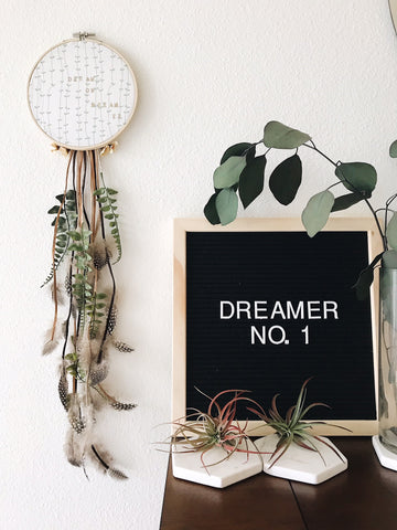 Jungalow style for your home | Unique Dream Catchers from Bast + Bruin