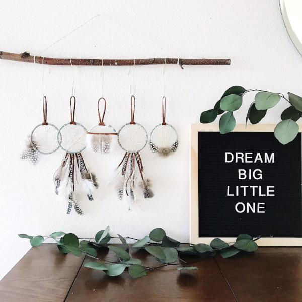 dream big little one | baby shower favors | bast + bruin
